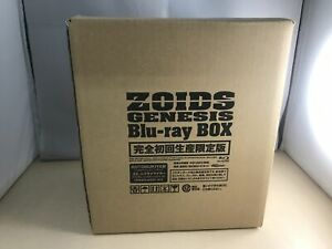 "Zoids Genesis Blu-ray BOX (1/100 Action Figure ""ZA"" Murasame Riger 2016Blu-ray"