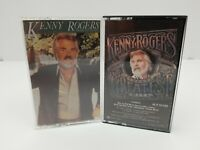 Kenny Rogers Cassette Tapes Lot of 2 Twenty Greatest Hits & Share Your Love