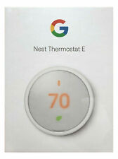 Nest E Smart Programmable Thermostat Model T4000ES $169 NEW from Google Store