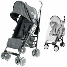ZETA Citi Stroller - Black From Birth Complete With Rain Cover