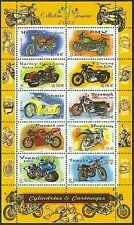 2002 FRANCE BLOC N°51**  MOTOS 2002, France motorcycles sheet SC 2913 MNH