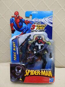 Spider-Man Marvel Universe Action Figure Toxic Blast VENOM Brand New 2009 RARE!