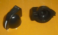 2x Mini Chickenhead chicken head pointer black amplifier control knob beak bill