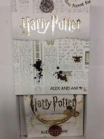 Alex and Ani Harry Potter Mischief Managed Bangle Bracelet Shiny Gold NWTBC