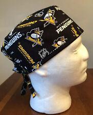 Pittsburgh Penguins NHL Men's Surgical Scrub Hat - Skull Cap