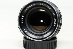 Minolta Auto Rokkor PF 55mm f1.8 Lens!!! Very early!!!!