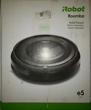 iRobot Roomba e5 WiFi Robotic Vacuum With Self Charger---Slightly Used/New.