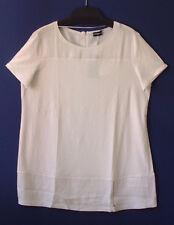 Kleid Samoon by Gerry Weber weiß Kurzkleid Rücken mit Reißverschluss Neu Gr.48