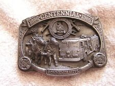 City of Los Angeles Fire Department Belt Buckle Limited Edition 1886-1986