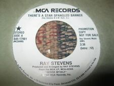 RAY STEVENS  LOT OF 8 RADIO STATION 45 RPM RECORDS, PROMOS
