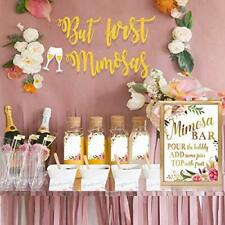 Mimosa Bar Kit Party Floral Decorations Perfect for Any Occasion - Gold