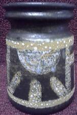 Lapid Israel Ceramic Vintage Mid Century  retro rare vase hand painted by sarah