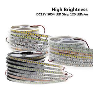 LED Strip 5054 DC12V 120LEDs/m 5M Flexible Tape Light Warm White White Ice blue