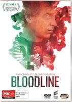 Bloodline Season 2 Two Second DVD NEW Region 4