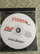 Metal Detector Minelab X Terra CD with instructions and tips