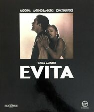 FRENCH COLLECTOR COFFRET BOX SET VHS EVITA MADONNA + AFFICHE DU FILM + 5 PHOTOS