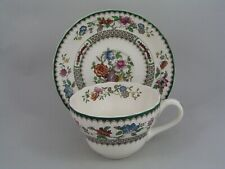 SPODE CHINESE ROSE BREAKFAST CUP AND SAUCER, BLACK BACKSTAMP.