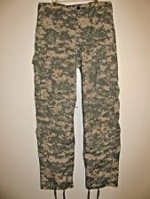 US Army Military Unisex Green Digital Camo Cargo Pants BDU Small/ Regular  EUC