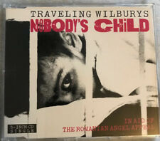 TRAVELING WILBURYS Nobody's Child CHARITY CD  Ringo Starr Beatles) Dave Stewart
