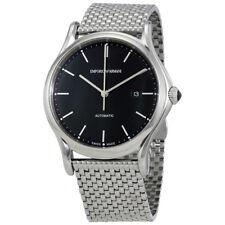 Emporio Armani Classic Black Dial Automatic Mens Watch ARS3005