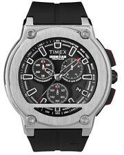 TIMEX IRONMAN Dress Chronograph T5K354 Sportuhr PU-Band schwarz - UVP 199,90EUR