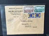 Algeria 1949 Airmail to Stockholm stamps cover Ref R283023