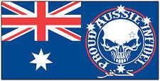 AUSSIE PRIDE PROUD INFIDEL STICKER SOUTHERN CROSS BUMPER STICKER AUSTRALIAN FLAG