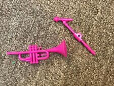 Vintage Barbie And The Rockers Trumpet Microphone Mattel 1985
