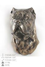 Cane corso dog statuette to hang on the wall, Art Dog , CA