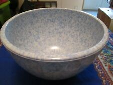 Boonton Melmac Malicite Bowl Confety Blue and White 511A-20 fluted