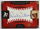 Dick Williams 2004 Sweet Spot Classic Autograph Oakland A's Athletics #71/125