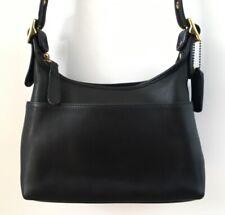 Beautiful Vintage COACH 9136 Black Leather Hobo Legacy Crossbody Shoulder Bag