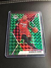 New Listing2019-20 Panini Mosaic Basketball Green Prizm Kendrick Nunn Sp Heat Rc #234