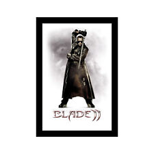 BLADE II - 11x17 Framed Movie Poster by Wallspace