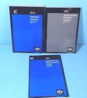 14 2014 Scion TC owners manual