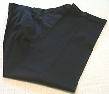 Mens Croft & Barrow Black 100% Cotton Dress Pants/Slacks, 32x32, NWT