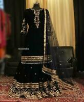 Indian sharara Ethnic Salwar Kameez Designer Anarkali Suit shalwar readymade new
