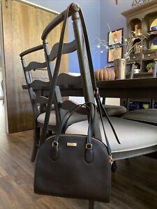Black Kate Spade Hand Bag Purse Crossbody Medium Size NWOT