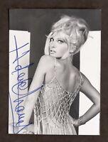 Cinema - Autografo dell'attrice Helene Chanel - anni '60