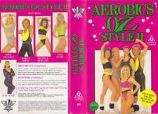 AEROBICS OZ STYLE 11~VHS PAL  VIDEO a rare find