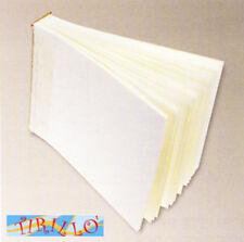 CARTONAGGIO-Interno album da rilegare cm 25x35 - 50 fogli avorio (orizzontale)