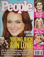 People Magazine 2004 Lindsay Lohan Wilmer Valderrama Cover No Label EX
