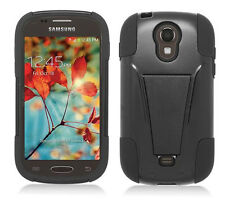 Samsung Galaxy Light SGH-T399 (T-Mobile) Phone Cover Case T-STAND skinBLACK/BLK