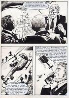 NICK CARTER  LA POUPEE CHINOISE (ALCAZAR) SUPERBE PLANCHE AREDIT PAGE 24