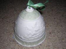 Lladro Christmas Bell Ceramic Ornament #5525 1988 New
