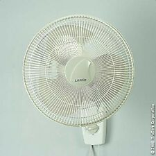 "Lasko 16"" Wall Mounted 3speed Oscillating Fan 3016"