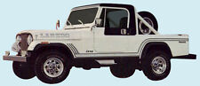 Jeep Decal Kit - 1985-86 Jeep Scrambler