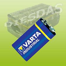 10 Stk Varta E-Block Industrial 9V 6LR6 4022 V4021 Batterie 10x