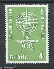 Ghana - 1962, Stamp 121, Fight Against Malaria, Malaria, New