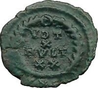 GRATIAN 379AD Authentic Ancient Genuine Roman Coin WREATH of success  i36357
